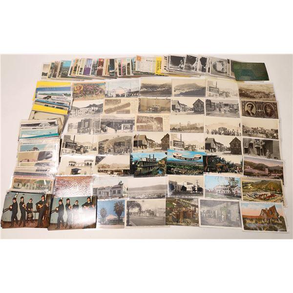 Huge Hollywood Postcard Lot  [127087]