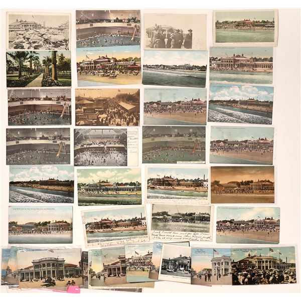 Long Beach Bath House Post Card Collection  [137968]