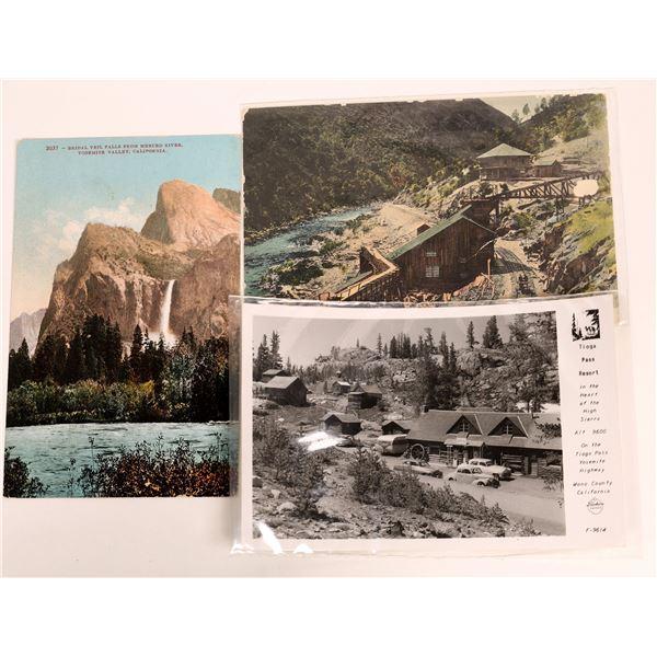 Rare Mathews (Siskiyou County) Postcard Postmark  [132557]