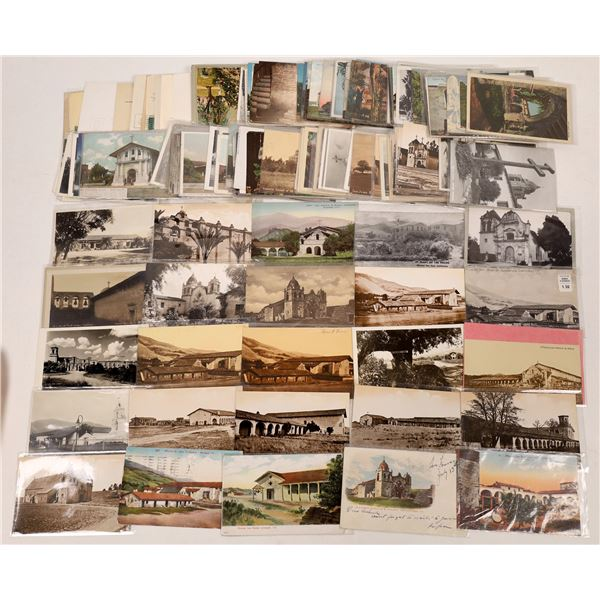 Mission California Postcard Collection  [137844]