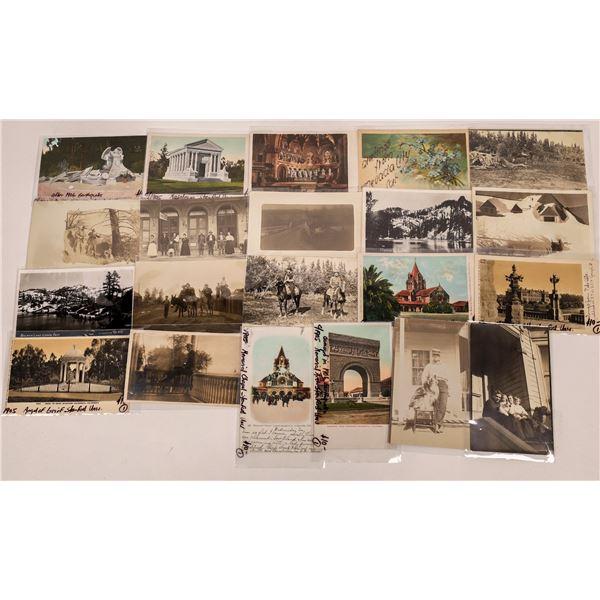 Various California Postcards (20)  [136049]