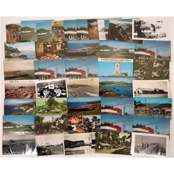 San Luis Obispo Beach Postcard Collection  [137849]