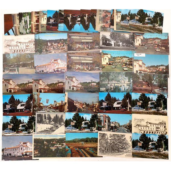 Sonora California Modern Era Postcard Collection  [137847]