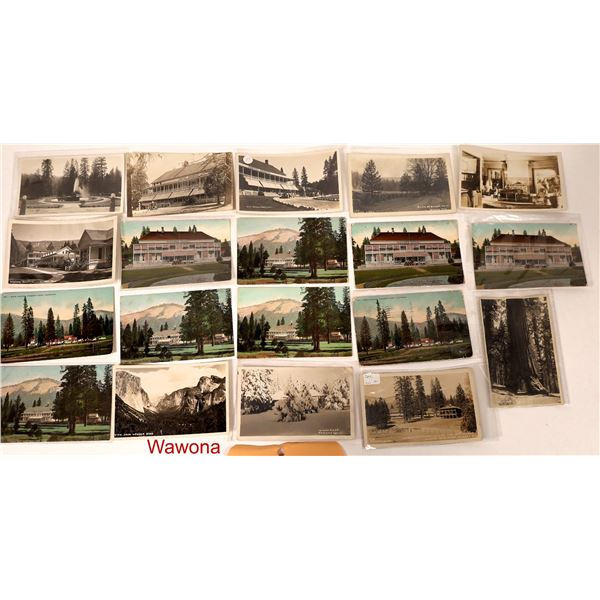 Hotels and Lodges of Yosemite Postcard Collection  [132570]