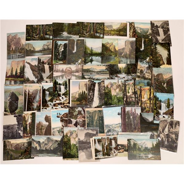 Yosemite Postcard Collection: Various Publishers  [132564]