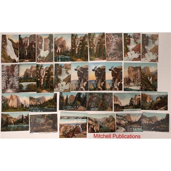 Yosemite Postcard Collection: Various Publishers  [132569]