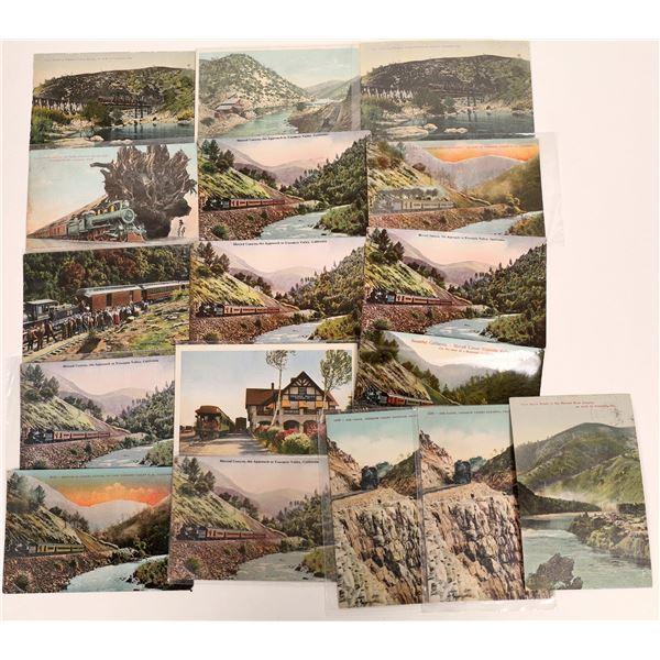 Yosemite Railroad Postcard Collection  [132559]