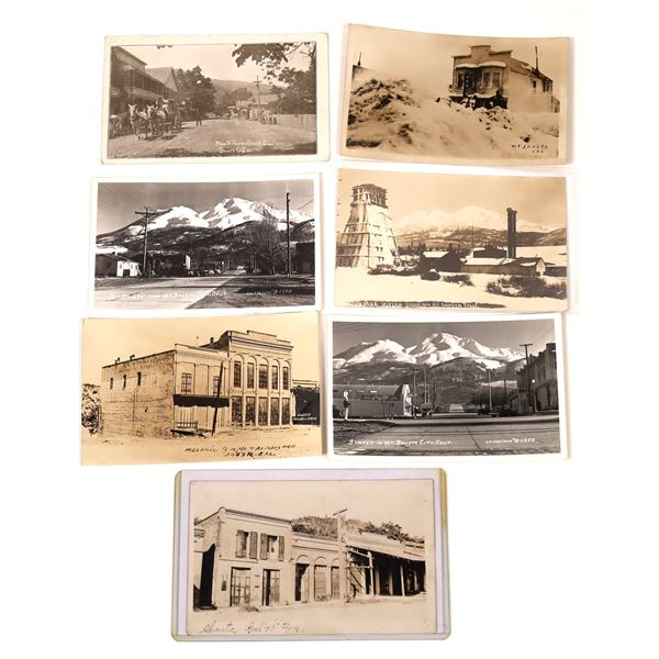 Real Photo Postcards of Mt. Shasta and French Gulch  [137956]