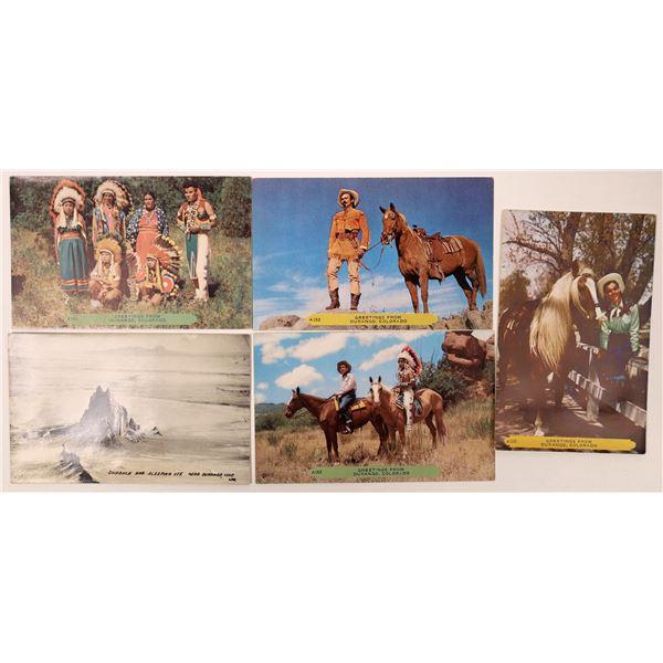 Durango Native American & Western Postcards  [135750]