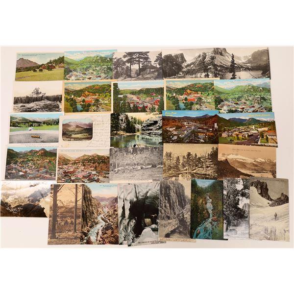 Estes Park Postcard Collection  [133693]