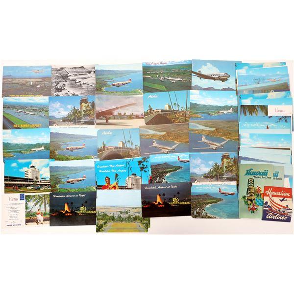 Hawaii Postcard Collection: Aviation  [133675]