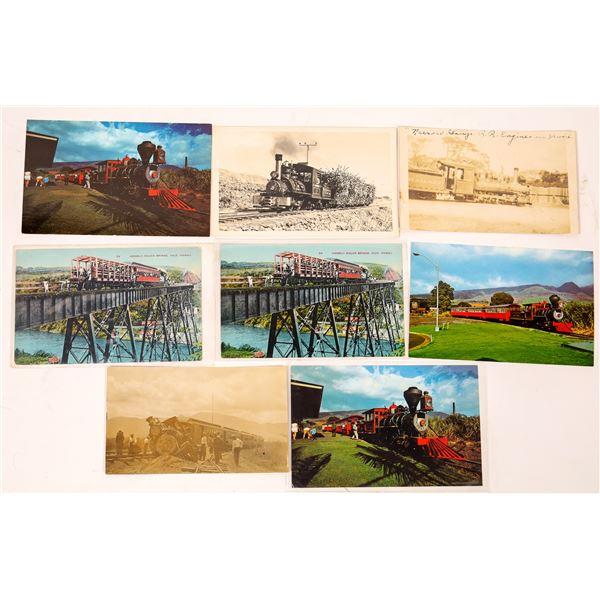 Hawaii Postcard Collection: Railroads  [133684]