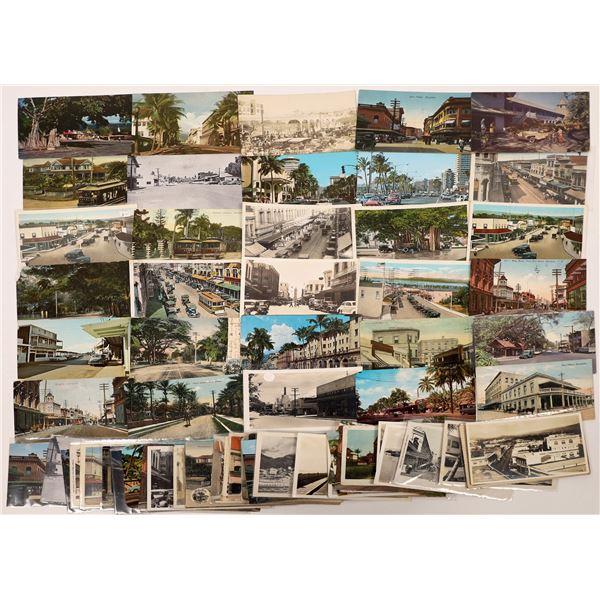 Hawaii Postcard Collection: Street Scenes  [133677]