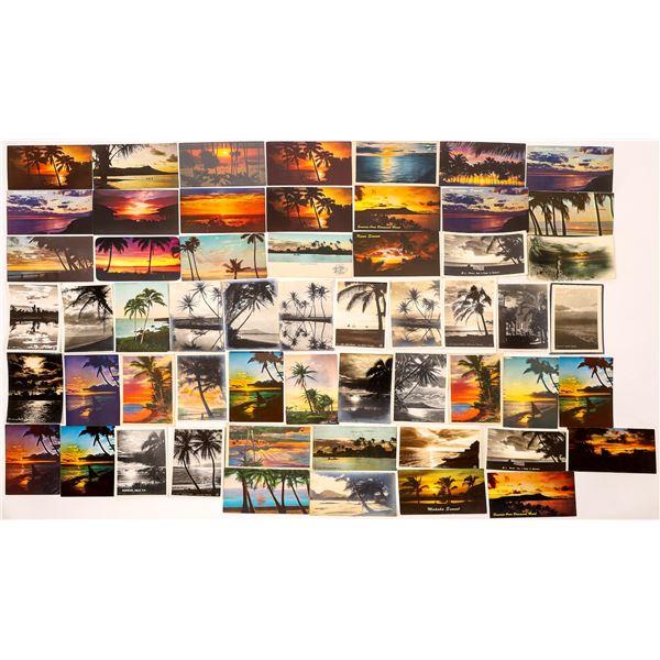 Hawaii Postcard Collection: Sunrise/Sunset  [133685]