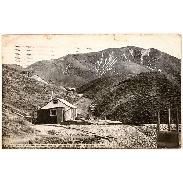 Rare Fairview Nevada Postcard  [129998]