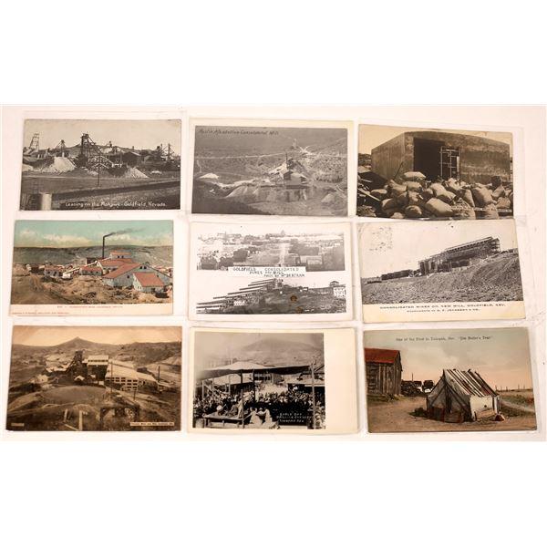 Central Nevada Postcard Lot (58)  [129993]