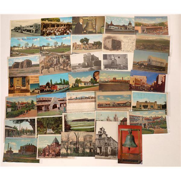 Albuquerque and Santa Fe Postcards  [138966]
