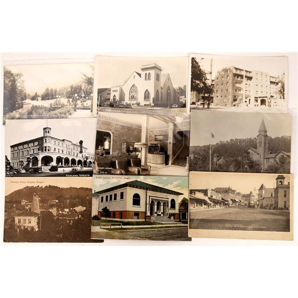 Ashland Oregon Postcards (9)  [137645]