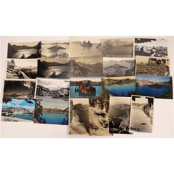 Crater Lake Oregon Postcards (21)  [137643]