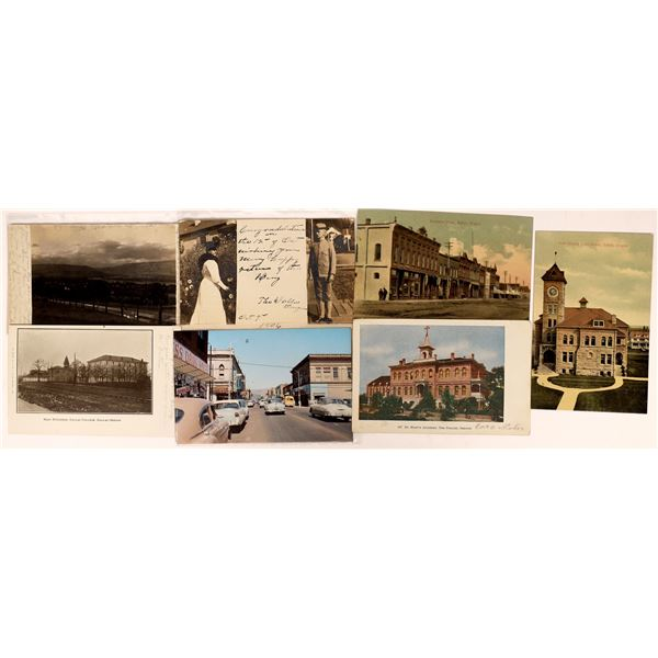 Dalles Oregon Postcards (7)  [137646]