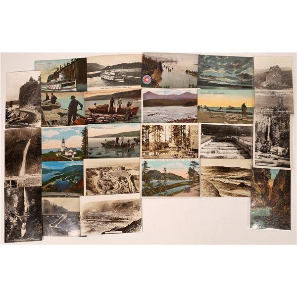 Columbia River Postcards (24)  [137639]