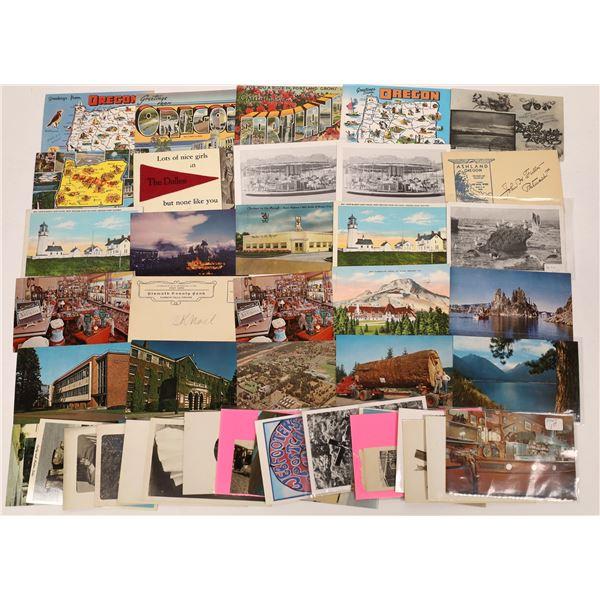 Mostly Modern Oregon Postcards (41)  [138898]
