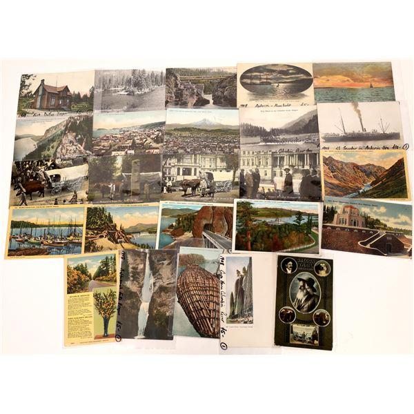 Oregon Postcards - (25)  [136054]