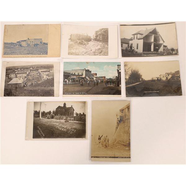 South Dakota Celebration & Devastation Postcards  [135142]