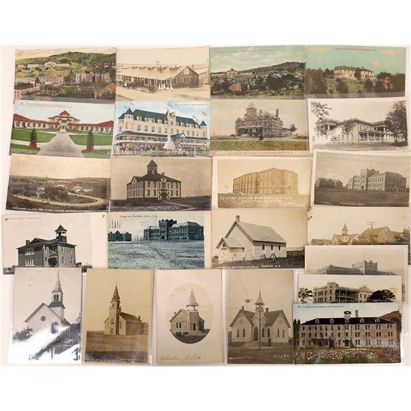 South Dakota Postcard Collection: Schools, Churches and Hospitals  [133702]