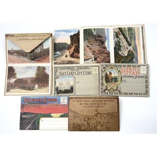 Utah Folding Postcard Group (6)  [138979]