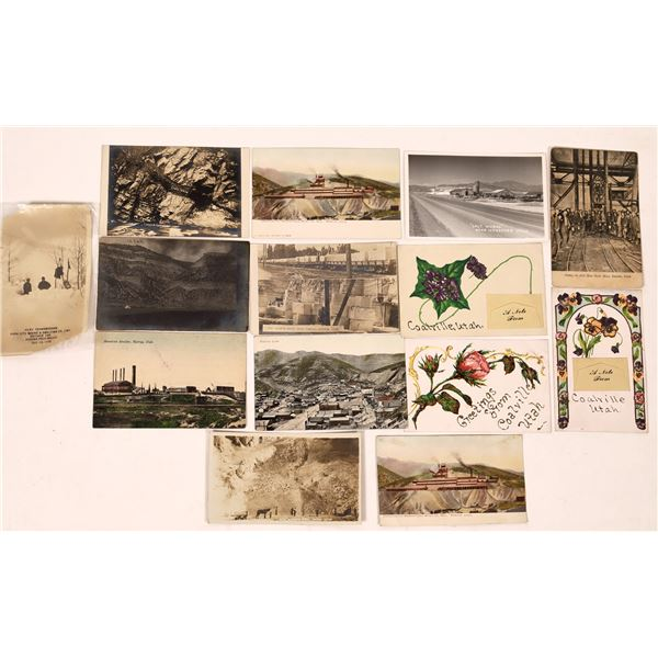 Utah Mining Postcard Group  [138977]