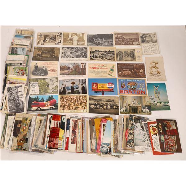 Advertising Postcards ~ 300  [138917]
