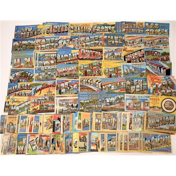 Large-Letter Postcard Group #1 ~ 420 pcs  [137117]
