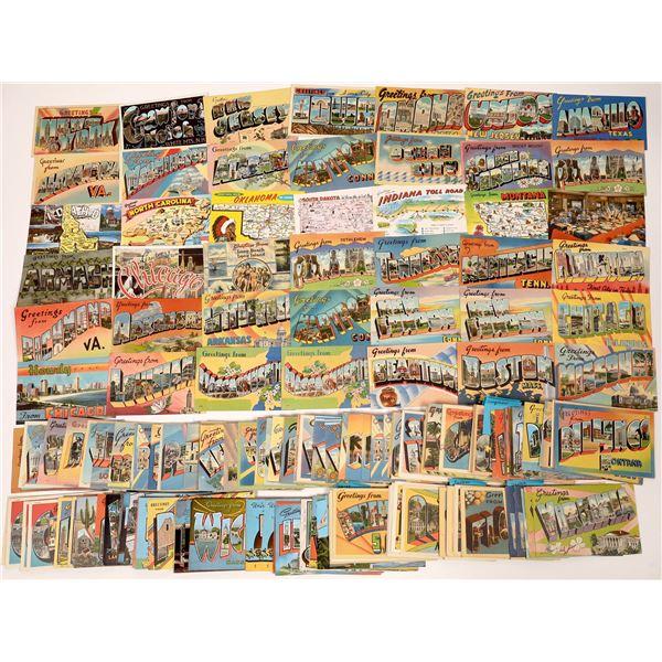 Large-Letter Postcard Group #2 ~ 350 pcs  [137118]