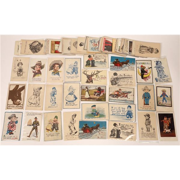 C.B. Wall Art Postcards  (About 70)  [136522]