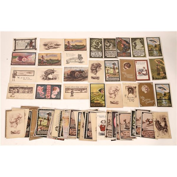 Cobb Shinn Art Postcards (70)  [136738]