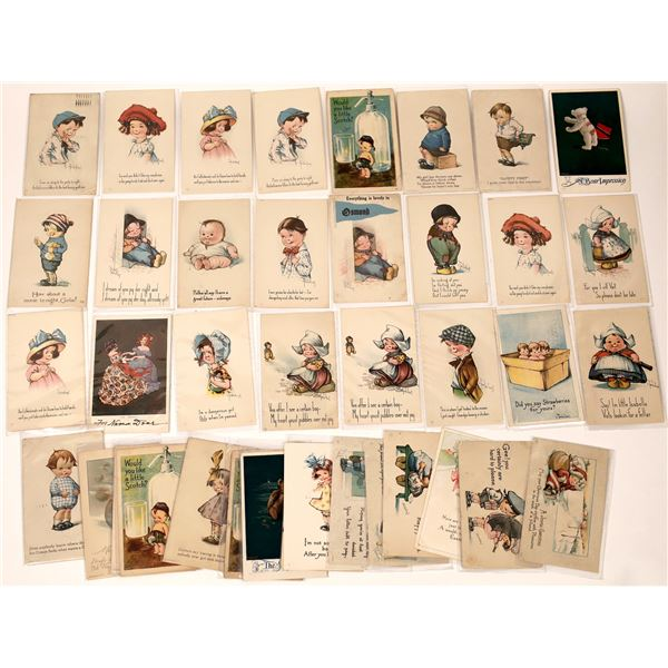 Child Related Art Postcards by Twelvetrees (40+)  [136531]