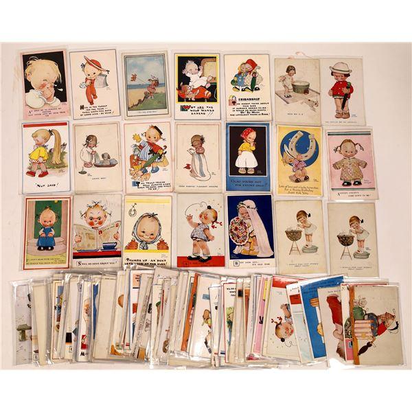 Children & Babies Art Postcard Collection (130)  [136733]