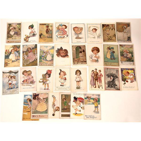 Children Themed Art Postcard Collection (33)  [136736]