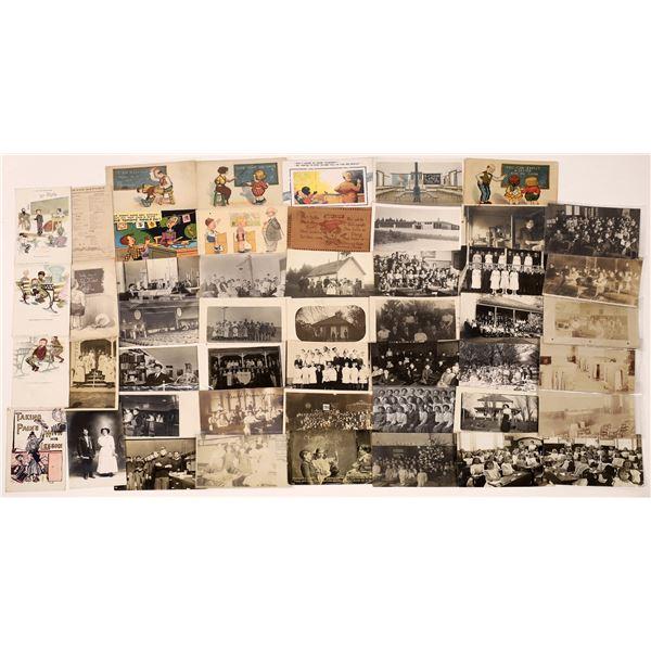 Teachers, Students, and Schools Postcards ~ 50  [137672]