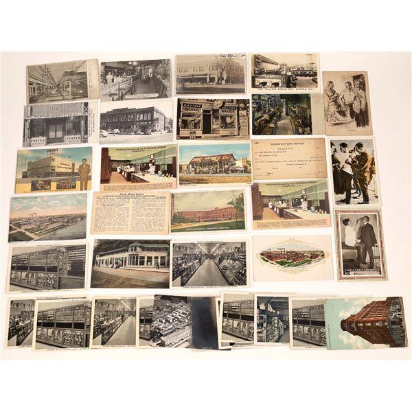 Drugstore Themed Postcards (30)  [137065]