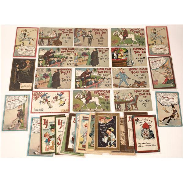 DWIG Gentleman's Art Postcard Collection (38)  [136518]