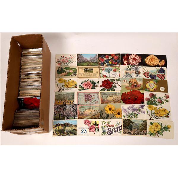 Florabundance in Postcards >500 pcs  [137661]