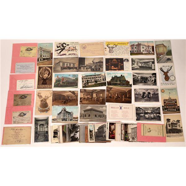Fraternal Elks BPOE Postcard Collection 100+  [137917]