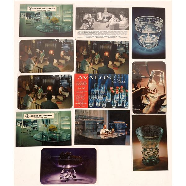 Glass Manufacturer Postcard Collection  [138930]