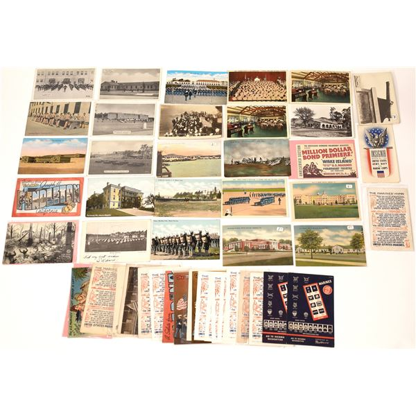 Marine Postcards (About 50)  [136524]