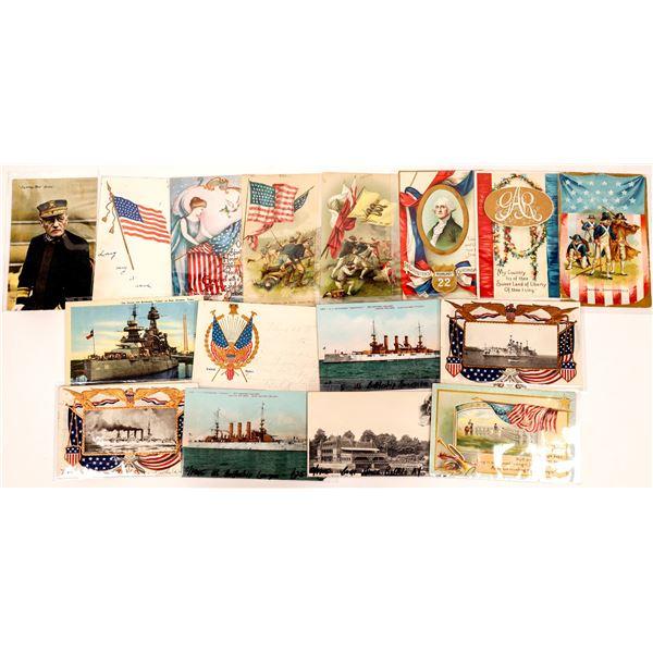 Patriotism Postcards - (15)  [136055]
