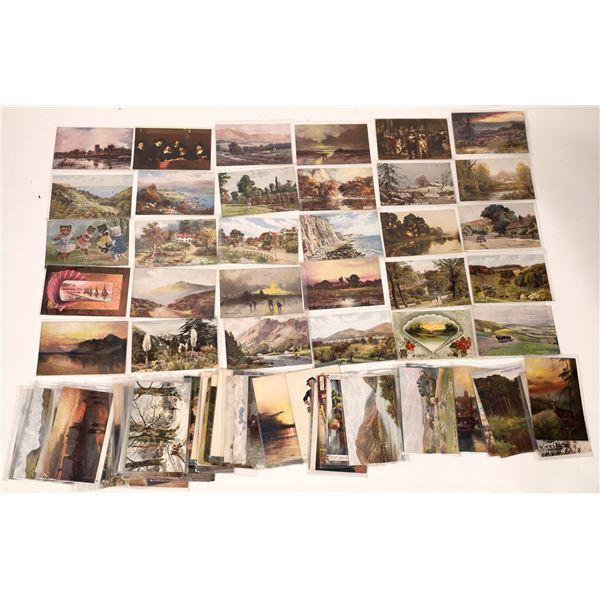 Prag Art Postcard Collection (80 +/-)  [136529]