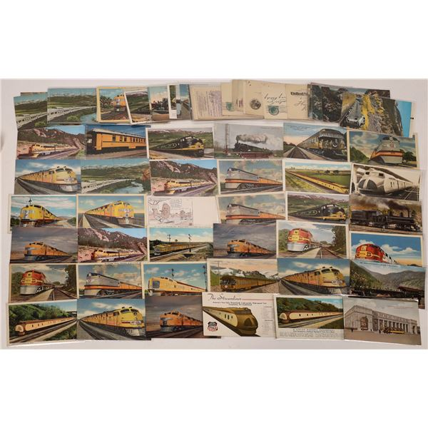 Western Railroad Postcard Collection  [133715]