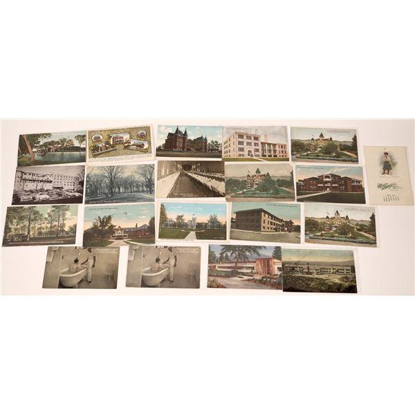 Sanatorium Themed Postcards  [137070]